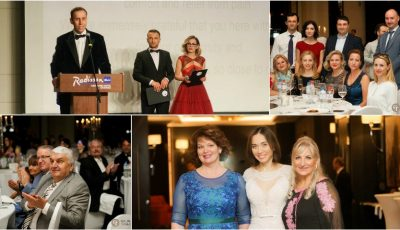 Persoane publice, diplomați și oameni de afaceri au promovat acțiunile de binefacere la Balul Anual de Caritate Hospice Angelus, ediția a IX-a!
