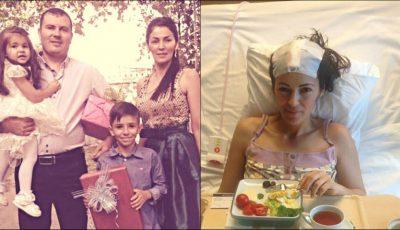 """Strigătul de ajutor al unei mame, diagnosticate cu cancer: ,,Am doar 33 de ani și vreau foarte mult să-mi cresc copiii"""""""