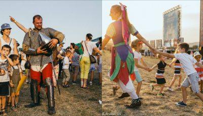 Distracție și multe emoții pozitive! Activități pentru copii la Festivalul Medieval