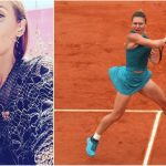 Foto: Stilista Iulia Albu a vorbit despre ținuta purtată de Simona Halep la Roland Garros