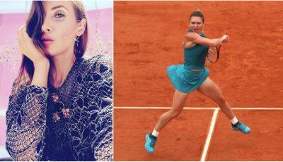 Stilista Iulia Albu a vorbit despre ținuta purtată de Simona Halep la Roland Garros