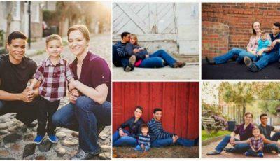 Un cuplu a divorțat demult, dar în fiecare an se întâlnesc și fac o poză de familie