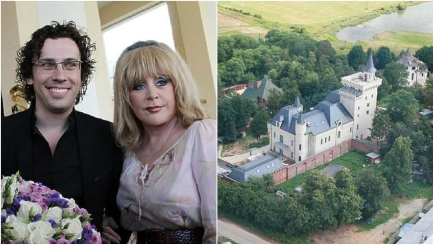 Foto: Alla Pugaciova și Maxim Galkin și-au arătat casa! Foto