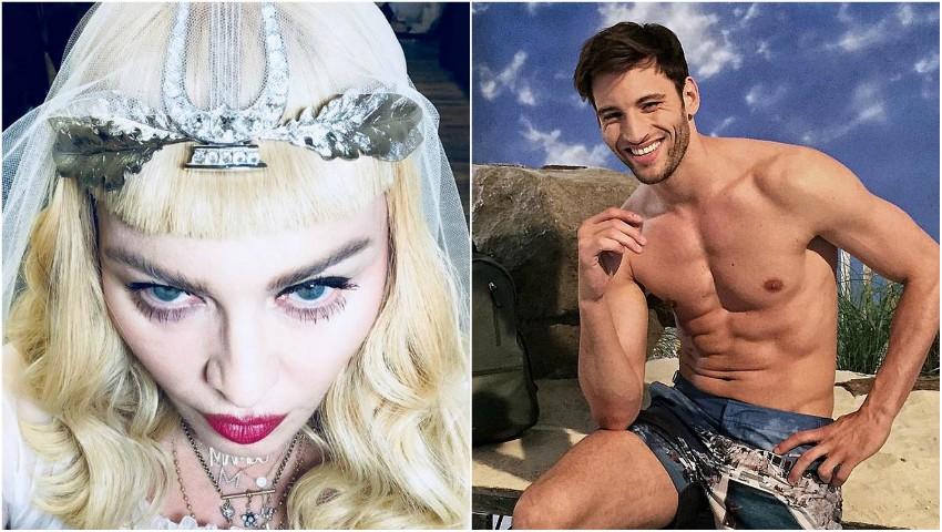 Foto: Madonna se căsătorește cu iubitul său mai tinerel, modelul Kevin Sampaio