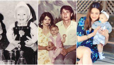 Astăzi, vedetele își amintesc de copilărie. Iată ce imagini înduioșătoare au publicat!
