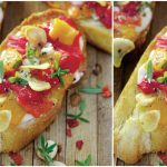Foto: Bruschete cu ardei copți și usturoi – un aperitiv rapid când ai invitați la masă