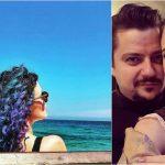 Foto: Olga și Alexandru Manciu, într-o poză romantică pe plajă. Cum s-au lăsat fotografiați cei doi!