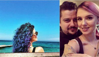 Olga și Alexandru Manciu, într-o poză romantică pe plajă. Cum s-au lăsat fotografiați cei doi!