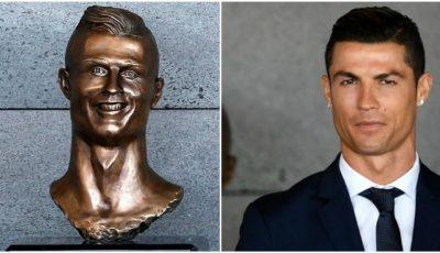 Cristiano Ronaldo are un nou bust pe Aeroportul din Madeira