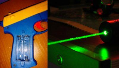 Un copil și-a distrus retina ochiului după ce s-a uitat mult timp la o jucărie cu laser