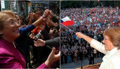 Video! Cum și-a luat la revedere de la cetățeni Michelle Bachelet, Președinta Republicii Chile, după încheierea mandatului de președinte