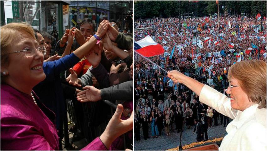 Foto: Video! Cum și-a luat la revedere de la cetățeni Michelle Bachelet, Președinta Republicii Chile, după încheierea mandatului de președinte