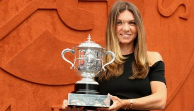 Simona Halep, la ședința foto de la Roland Garros! Ce rochie a purtat?