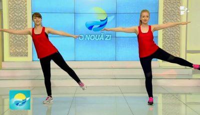 Antrenament Pilates pentru un corp suplu și bine tonifiat