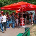 """Foto: Zeci de oameni au donat sânge în Scuarul Grădinii Publice """"Ştefan cel Mare şi Sfânt"""""""