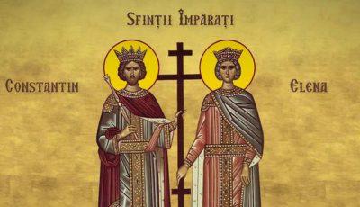 Creștinii ortodocși de rit vechi îi sărbătoresc pe Sfinții Constantin și Elena