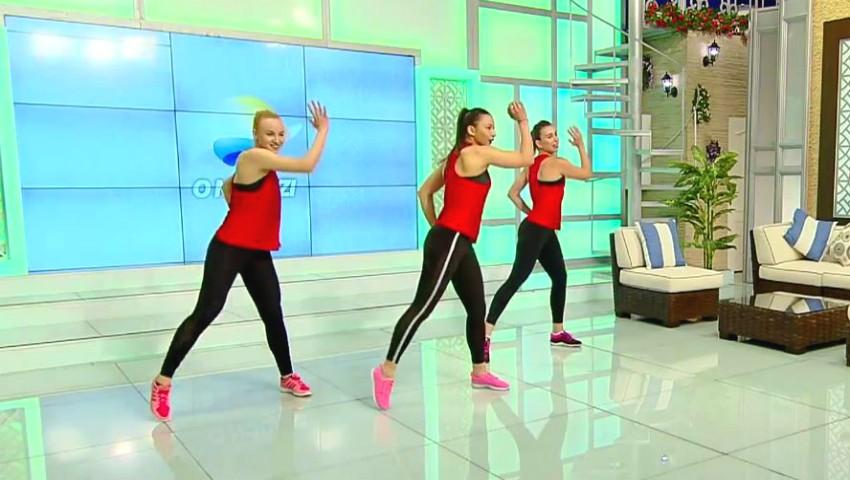 Foto: Video! Exercițiile aerobice sunt un pas spre un corp sănătos și un metabolism activ