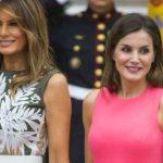 Foto: Melania Trump şi Regina Letizia, duelul ținutelor! Ce rochii au îmbrăcat la întâlnirea de la Casa Albă