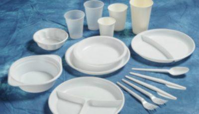Vesela din plastic de unică folosinţă va fi interzisă în Moldova