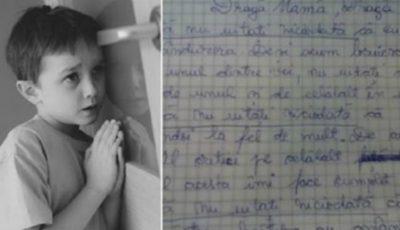 Scrisoarea emoționantă a unui copil către părinții săi divorțați