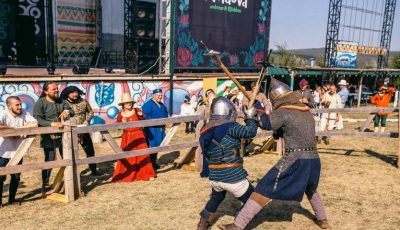 Lupte cavalerești pentru a cuceri inima fiicei Domnitorului, la Festival Medieval 2018!