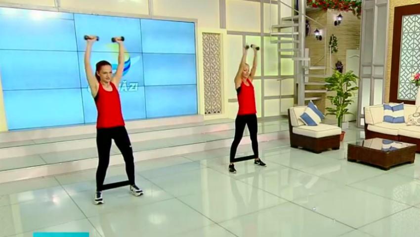 Foto: Vezi un set de exerciții eficiente pentru coapse și fese tonifiate! Video