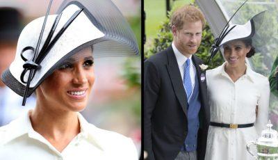 Meghan Markle și Prințul Harry au avut o apariție deosebit de elegantă la Royal Ascot