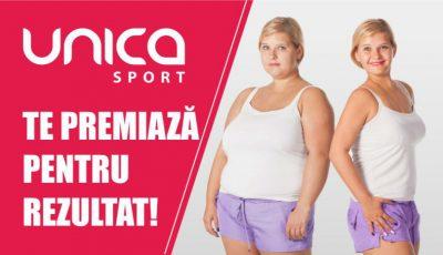 MEGA PROMOȚIE! UNICA Sport te premiază pentru REZULTAT!