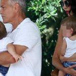 Foto: Poze noi cu gemenii lui George și Amal Clooney!