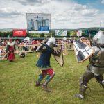 Foto: Turniruri internaționale între maturi și copii, la Festival Medieval 2018!