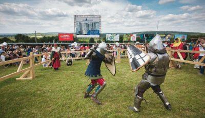 Turniruri internaționale între maturi și copii, la Festival Medieval 2018!