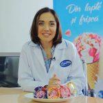 """Foto: Galina Tomaș, în excursie la fabrica de înghețată """"Sandriliona"""""""