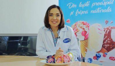 """Galina Tomaș, în excursie la fabrica de înghețată """"Sandriliona"""""""