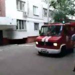 Foto: Video. Un fixativ de păr a explodat într-un apartament din Capitală, provocând daune serioase