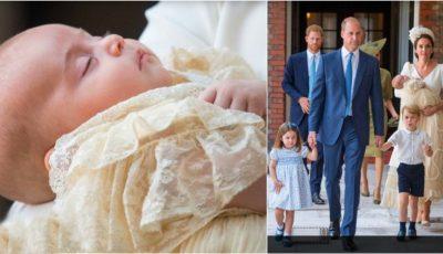 Primele imagini de la botezul Prinţului Louis!