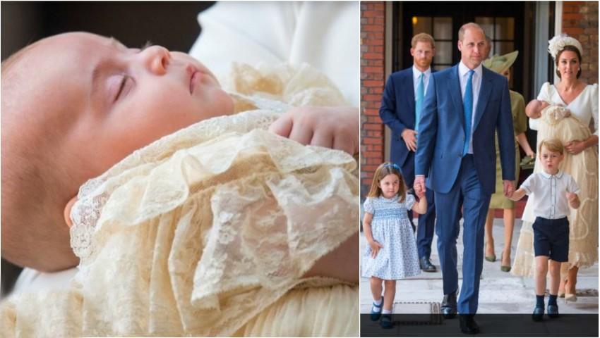 Foto: Primele imagini de la botezul Prinţului Louis!