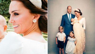 O nouă fotografie cu Prințul Louis face înconjurul lumii! Cu cine seamănă micuțul?