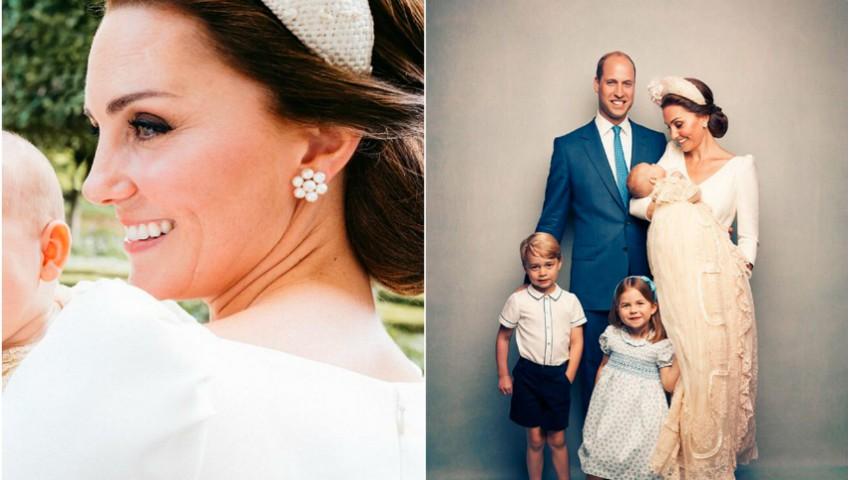 Foto: O nouă fotografie cu Prințul Louis face înconjurul lumii! Cu cine seamănă micuțul?