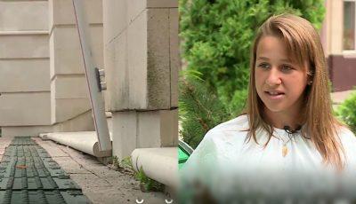 """O elevă de 12 ani din Chișinău a inventat ,,bastonul cu senzori"""" pentru nevăzători"""