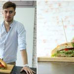 Foto: Tânăr și ingenios! Marius David a gătit panini italienești și un smoothie energizant