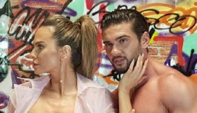 Imagini fierbinți cu Anna Lesko și Dorian Popa în noul videoclip! Vezi în ce ipostaze s-au filmat cei doi