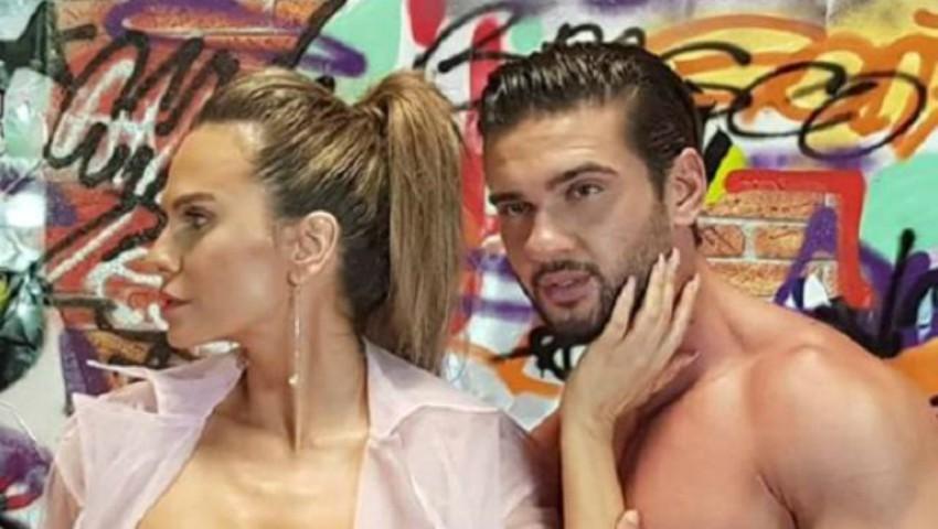 Foto: Imagini fierbinți cu Anna Lesko și Dorian Popa în noul videoclip! Vezi în ce ipostaze s-au filmat cei doi
