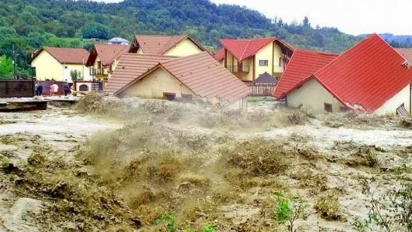 Foto: Cod roșu de inundații în România!