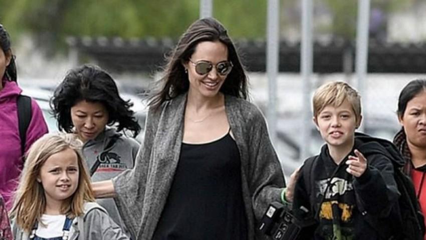 Încă o fiică a Angelinei Jolie se transformă în băiat. Poartă haine masculine și tunsoare scurtă