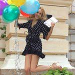 Foto: Kătălina Rusu a absolvit studiile de master cu media 9,5