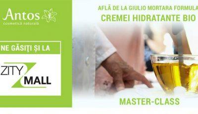 Master CLASS by Antos Cosmetică Naturală- Cum se produce o cremă hidratantă bio