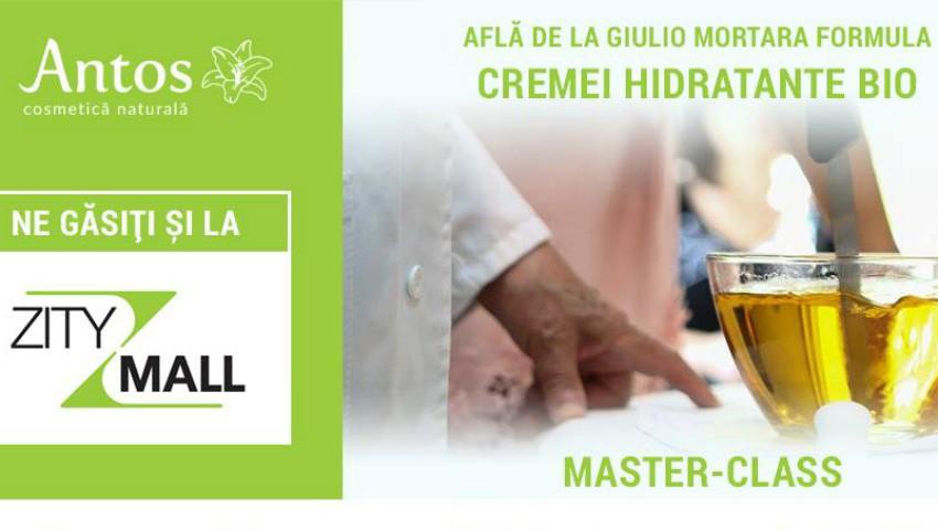 Foto: Master CLASS by Antos Cosmetică Naturală- Cum se produce o cremă hidratantă bio