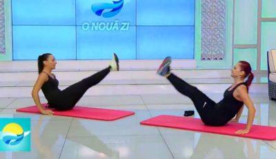 Scapă de burtă. Set de exerciții pentru un abdomen plat! Video