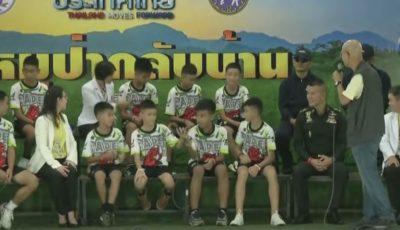 Video! Copiii salvaţi din peştera tailandeză au povestit coşmarul prin care au trecut