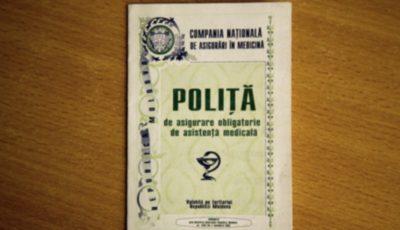 Poliţa de asigurare medicală pe suport de hârtie a fost exclusă. Toată informația se va conține în format electronic